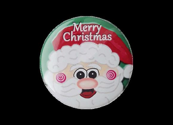 Merry Christmas Santa Topper