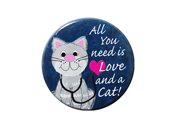 All You Need Is Love And A Cat Topper