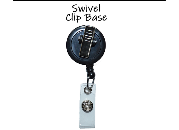 Retractable Swivel Clip Badge Reel