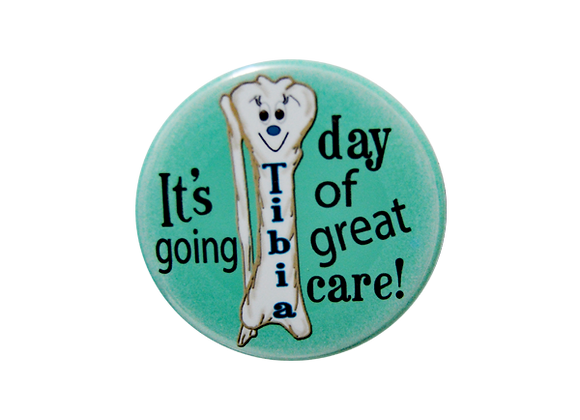 It's Going Tibia a Day of Great Care Badge Reel Topper