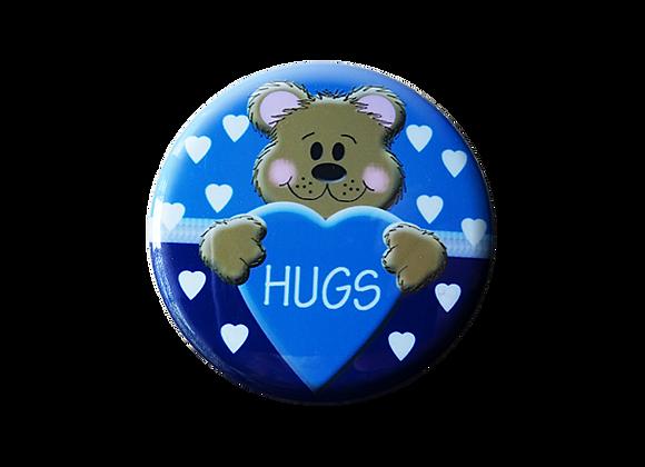 Bear Hugs Heart Pediatric Topper