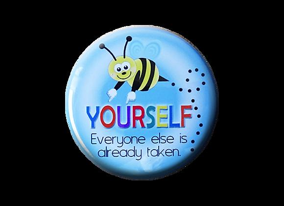 Bee Yourself Teacher Topper