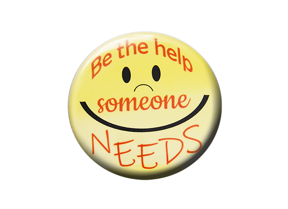 Be the Help Someone Needs Badge Reel Topper