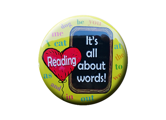 Reading It's All About Words Teacher Topper