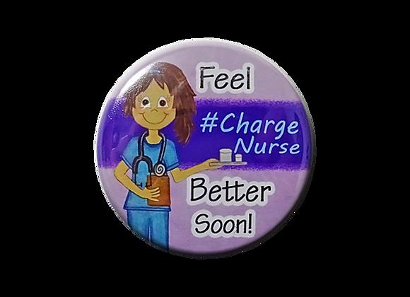 Feel Better Soon #Charge Nurse Medicine Nurse Topper