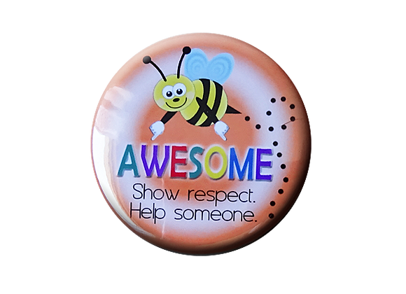 Bee Awesome Teacher Topper
