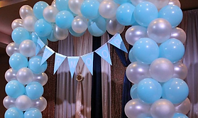 balloon arch party decoration