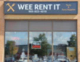 tool rental party rental