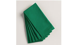 green linen napkins
