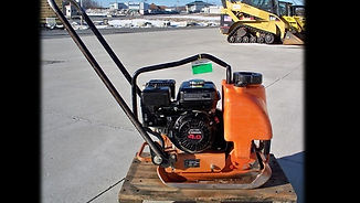 gas plate tamper compactor