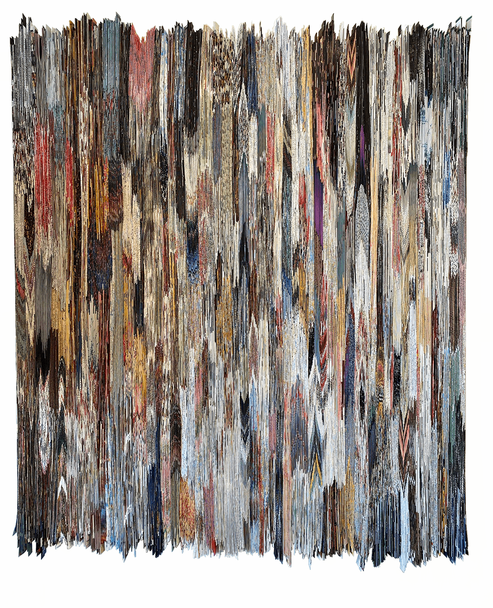 Lost in Colors #2 | Folded Paper | 150x185cm