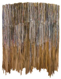 Rain, Folded Paper   105x80cm,