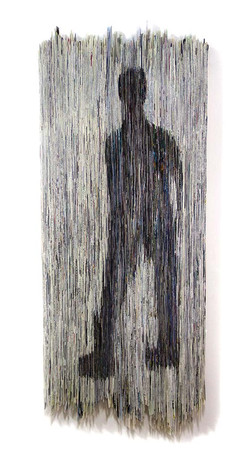 Walking on the Wild Side   Folded Paper   60x155 cm