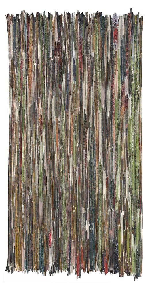 Jungle Paper | Folded paper | 180x90cm