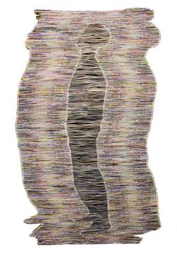 Echo   Folded Paper   135x80 cm