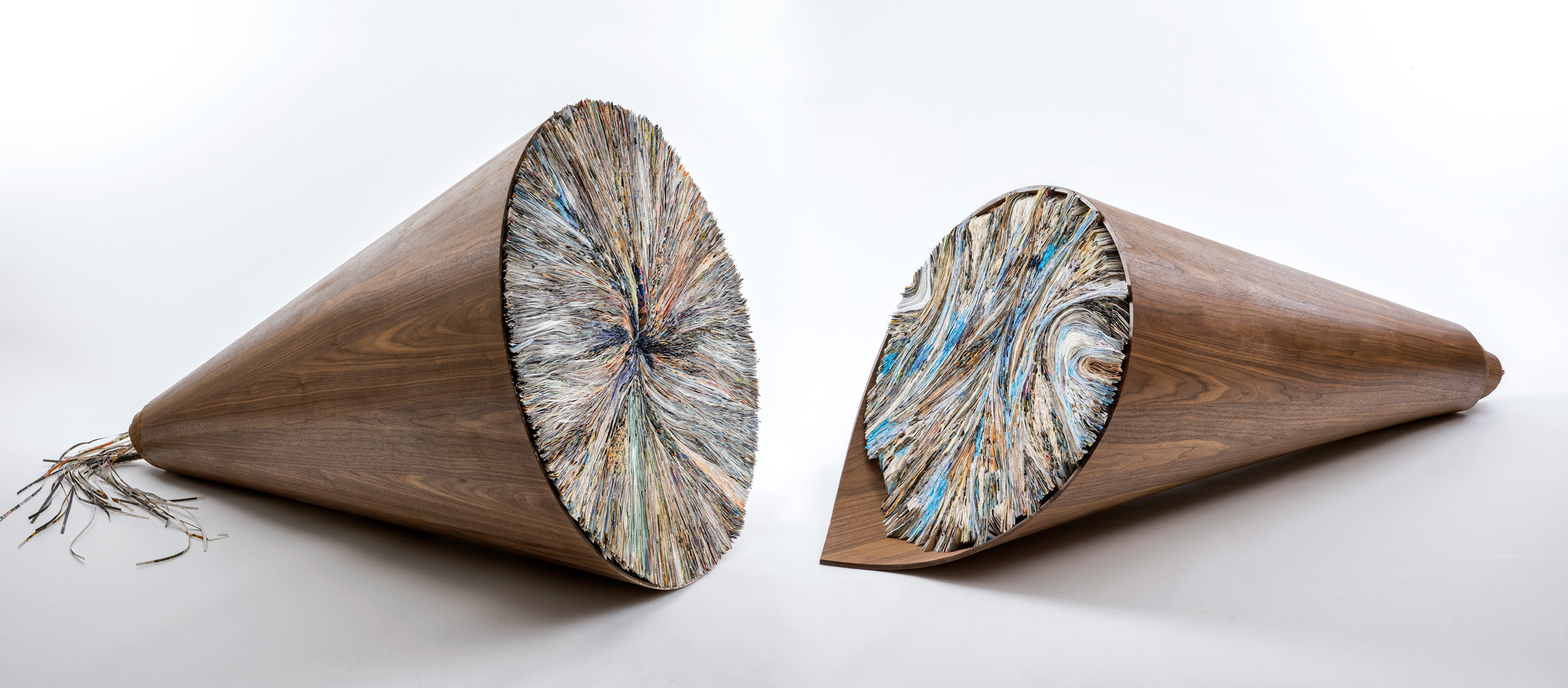 Untitled | Folded Paper & Kopf Wood