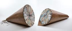 Untitled   Folded Paper & Kopf Wood
