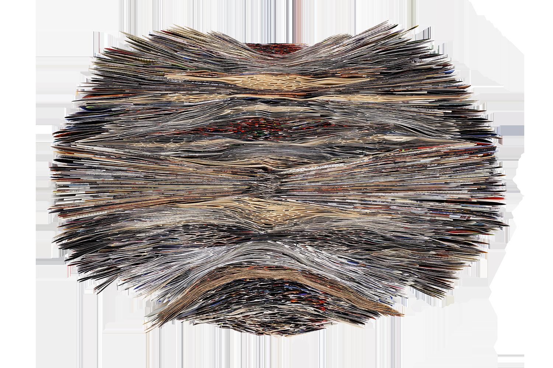 Stratum | folder paper | 60x40cm