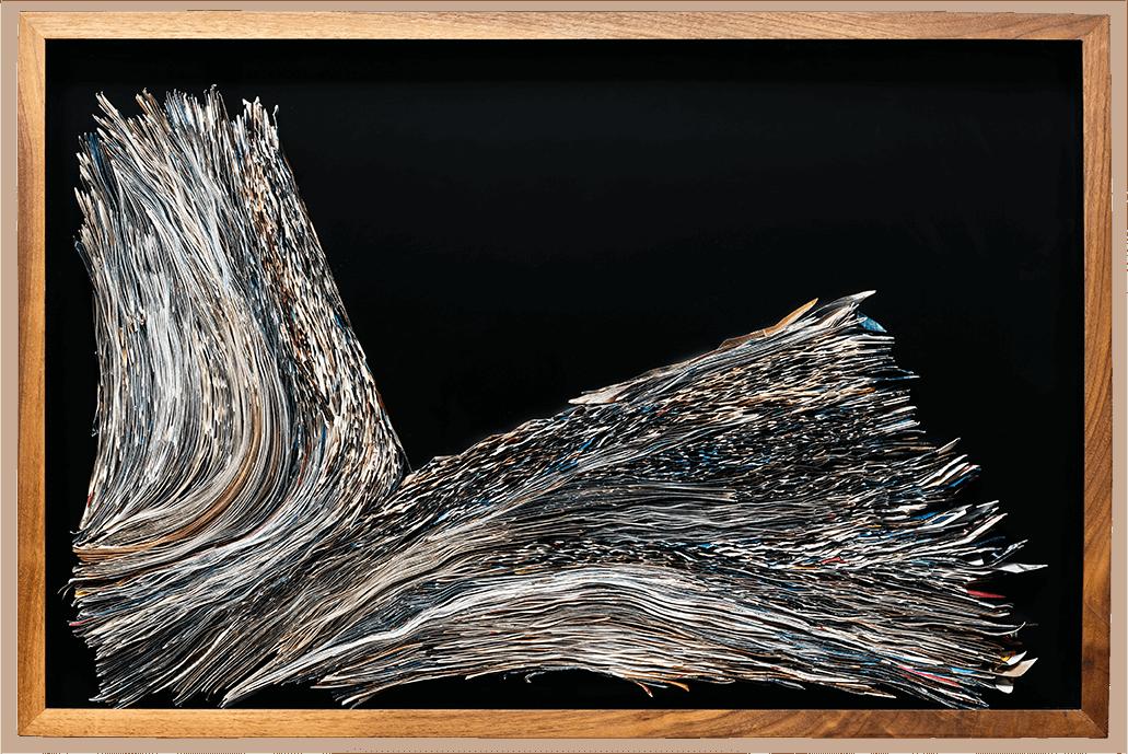 Dove | Folded Paper | 80x53cm