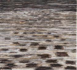 Landscape of Clod   Folded paper