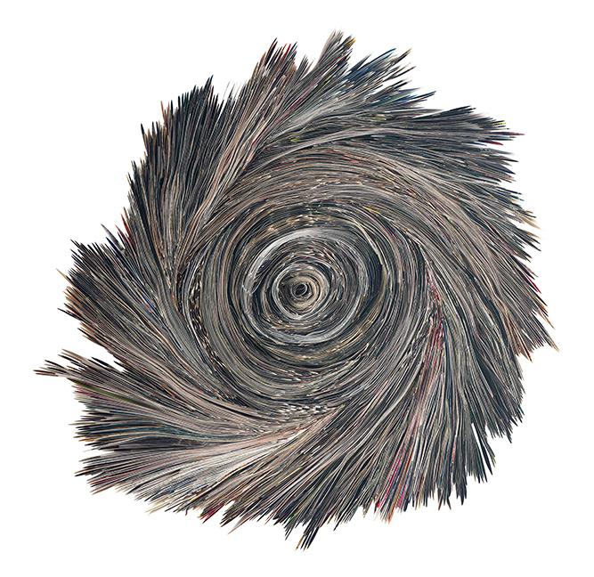 Yin&Yang | Folded paper