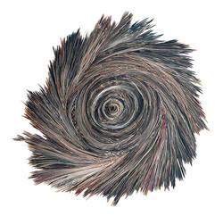 Yin&Yang   Folded paper