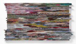 Lost in Colors   Folded Paper   170x90 cm