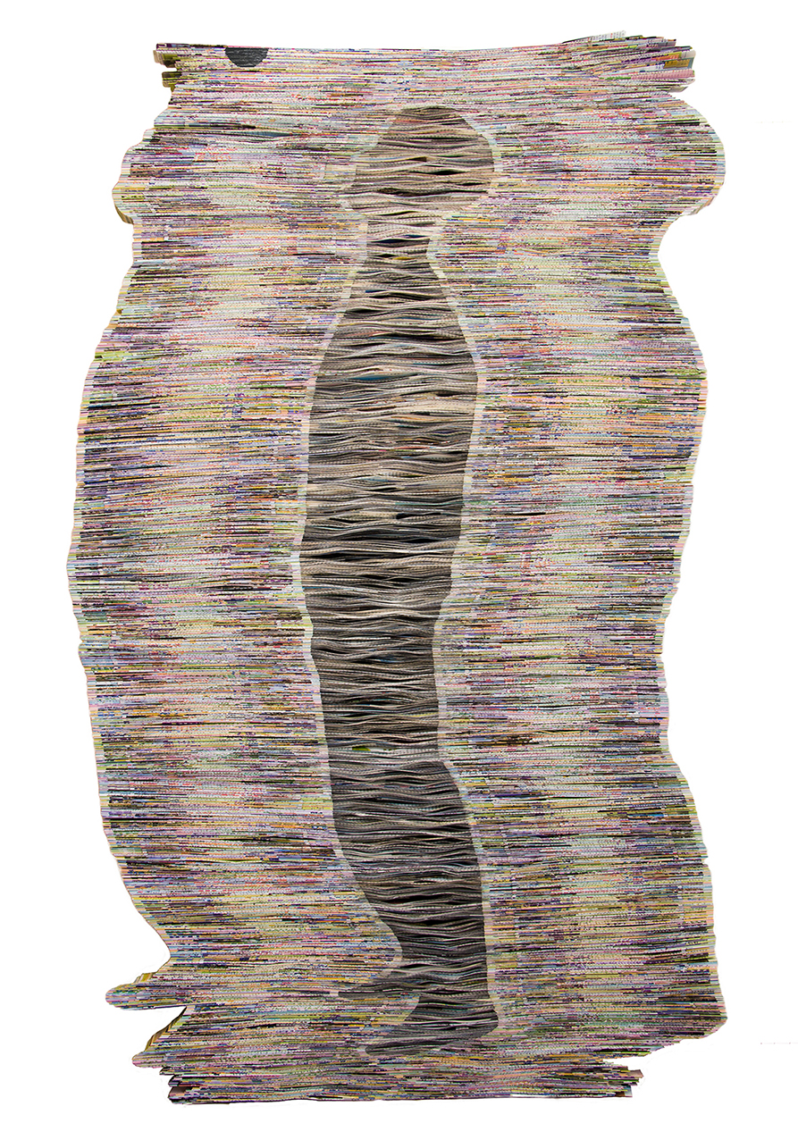 Echo | Folded Paper | 135x80cm