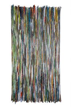 Jungle Paper  Folded Paper   90X180 cm