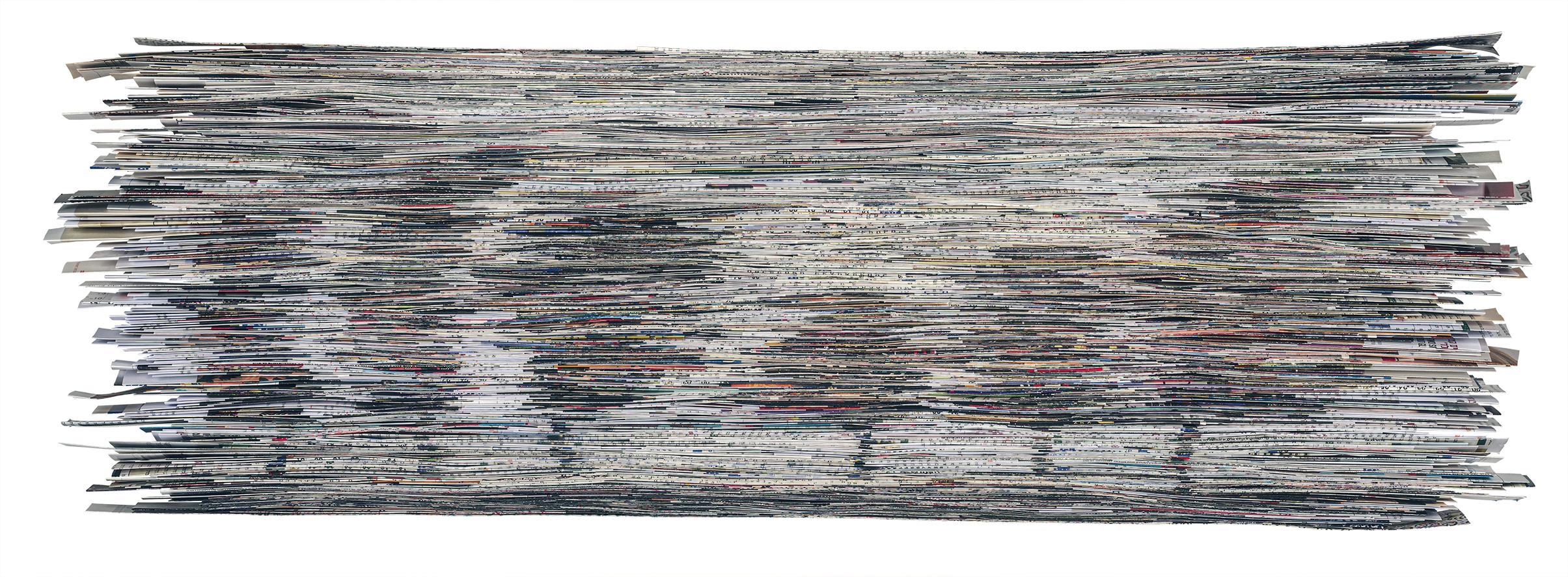 Dawn | Folded paper | 90X35cm