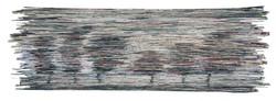 Dawn   Folded paper   90X35cm