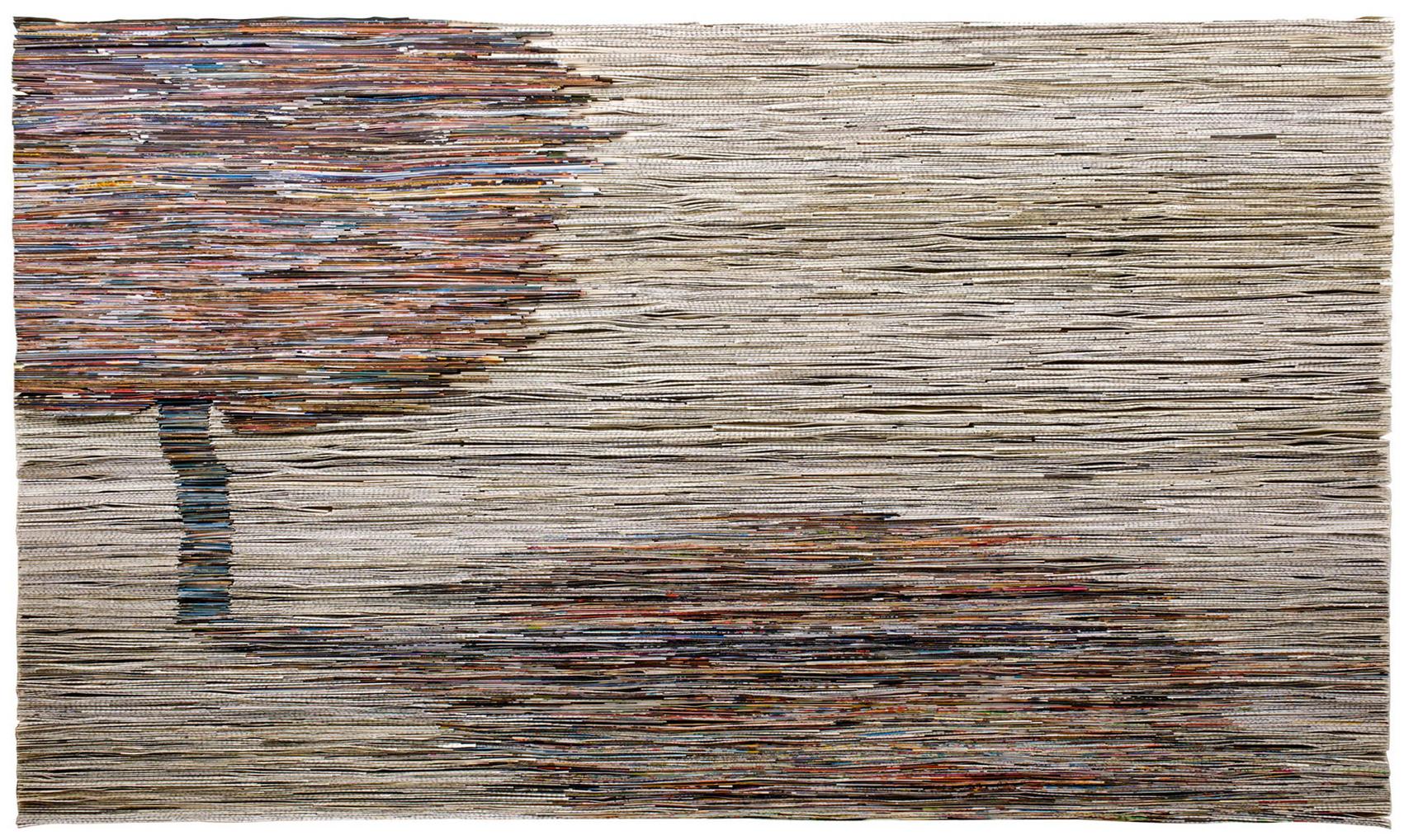 Cezanna | Folded Paper | 72x124cm