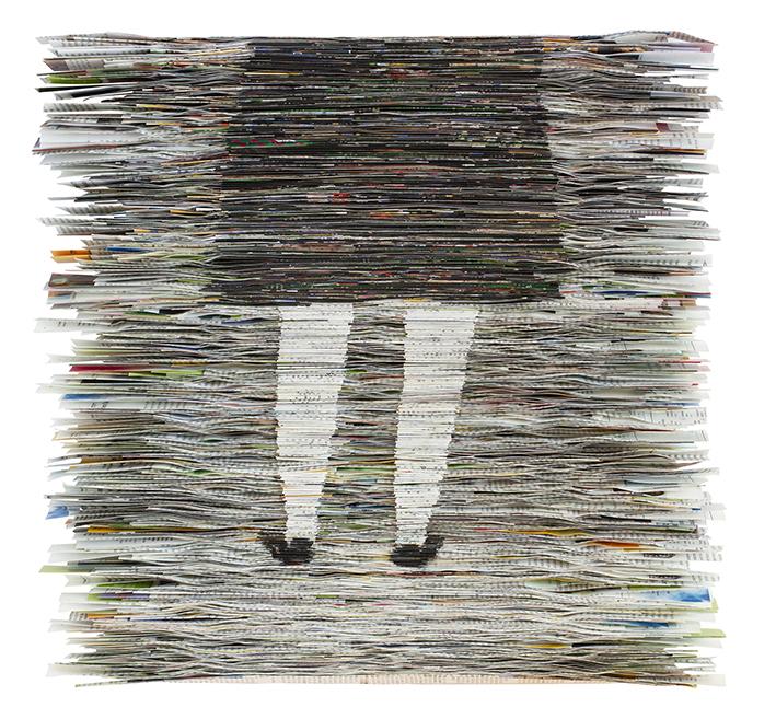Waiting | Folded Paper