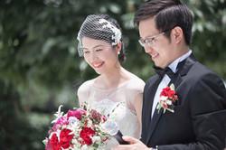 Lace Bridal Birdcage Veil
