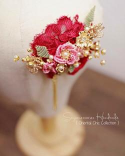 Oriental Lace Headpiece