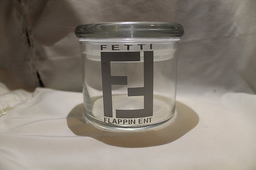 Fetti Flappin Flower Jar Large