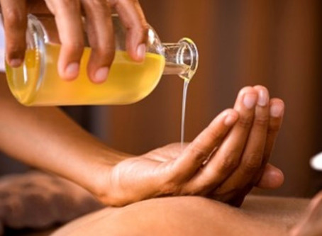 """The Best Massage Oil - By """"UpJourney"""""""