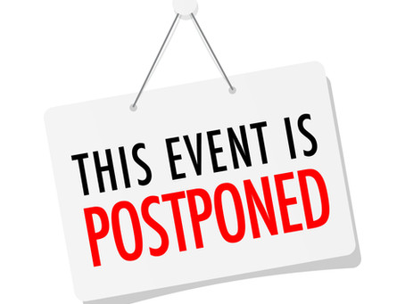 Steps to Take When Postponing your Fundraising Event