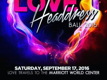 Hope and Help Headdress Ball 2016