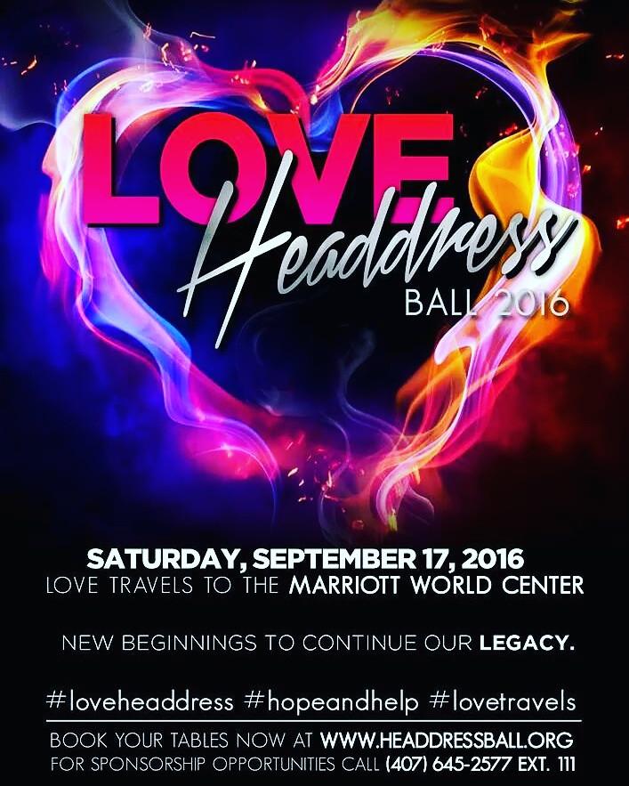 Hope and Help Headdress Ball 2016