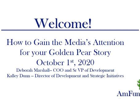 Nonprofit Learning Lab and AmFund Present: Storytelling and Marketing Webinar