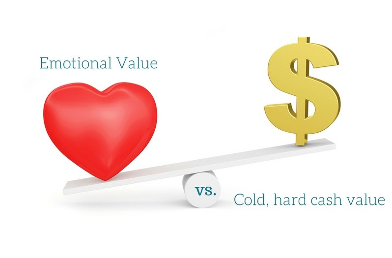 Emotional Value vs. Cold, Hard Cash Value