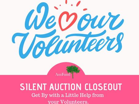 Silent Auction Closeout