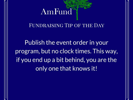 AmFund Fundraising Tip Tree