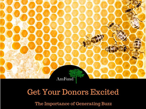 Get Your Donors Excited
