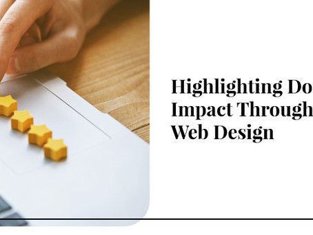 Highlighting Donor Impact Through Web Design