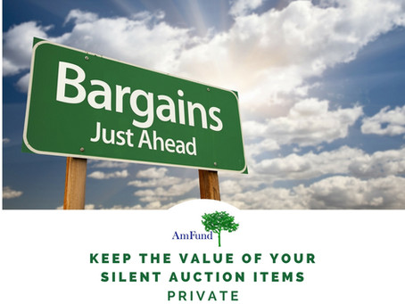 Posting the Value of your Silent Auction Items: Yay or Nay?
