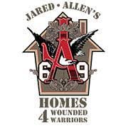 Jared Allens Homes for Wounded Warriors.