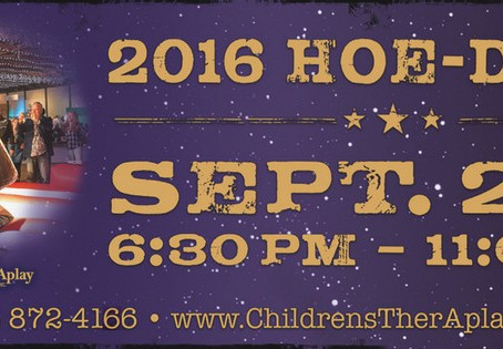 Children's TherAplay 2016 Hoe-Down