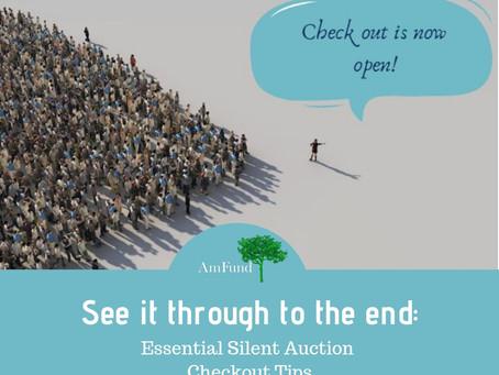 Silent Auction Checkout Tips